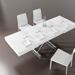 Tavolino trasformabile in tavolo l. 220 cm art. AT 025