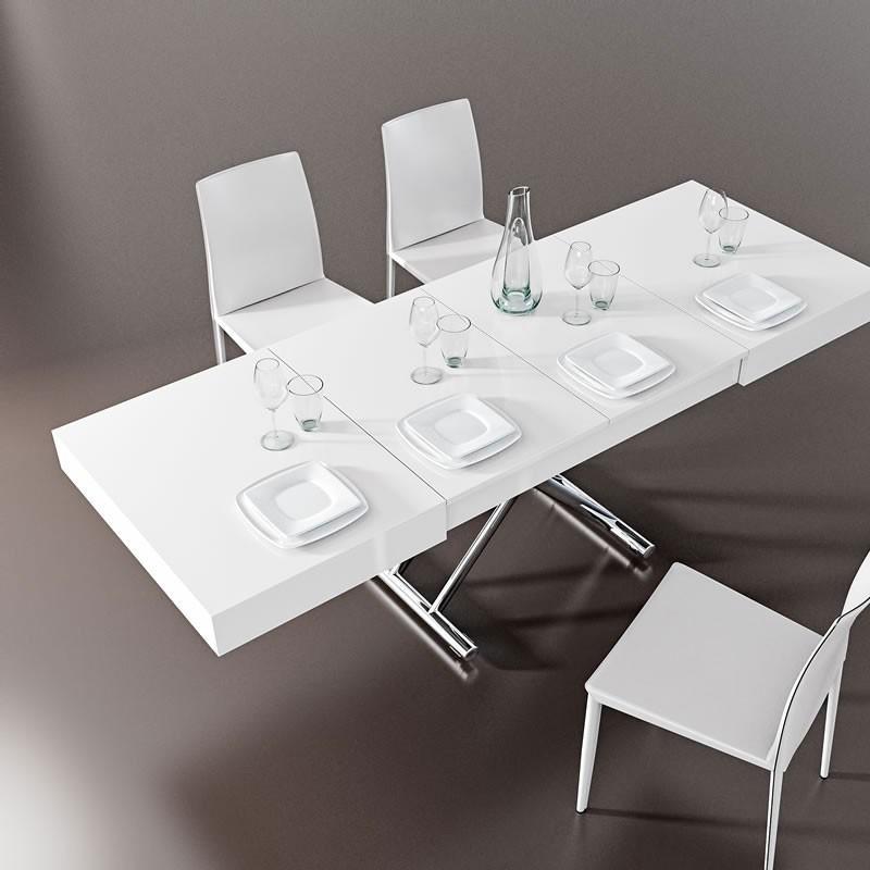 Tavolino Tavolo Trasformabile.Tavolino Trasformabile In Tavolo L 220 Cm Art At 025