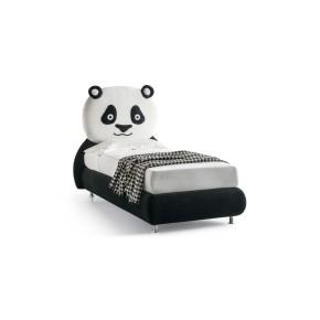 Letto singolo imbottito art. panda