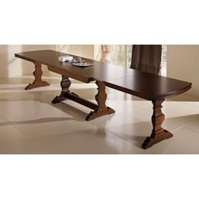 Tavolo da 180 x100 cm in legno allungabile a 4 metri art. rossini