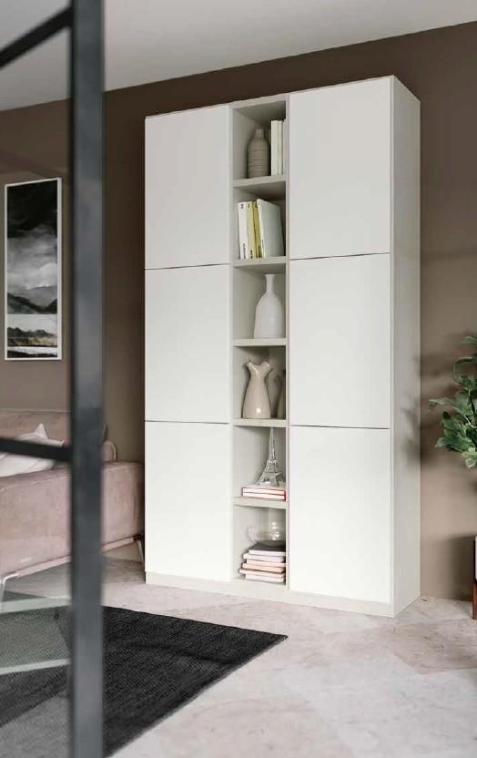 Parete soggiorno libreria art.qs016