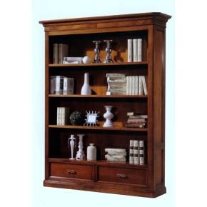 Libreria in legno tinto noce art Art. 523IM