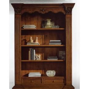 Libreria in legno rinascimentale