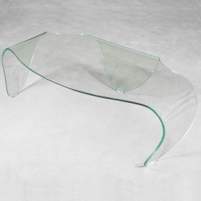 Tavolino marte in vetro