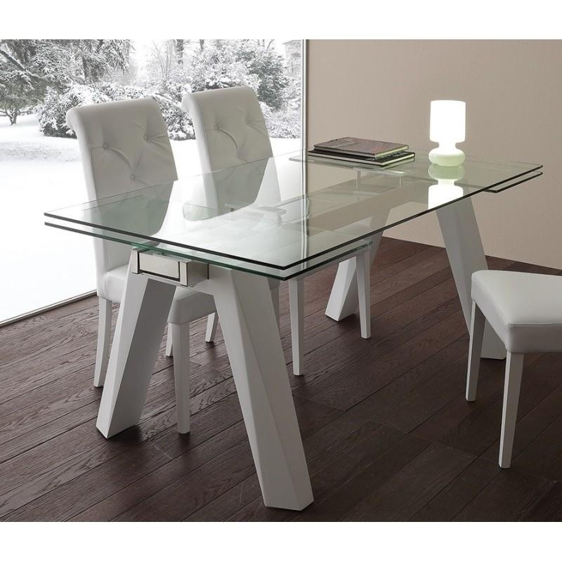 Tavolo Caronte bianco