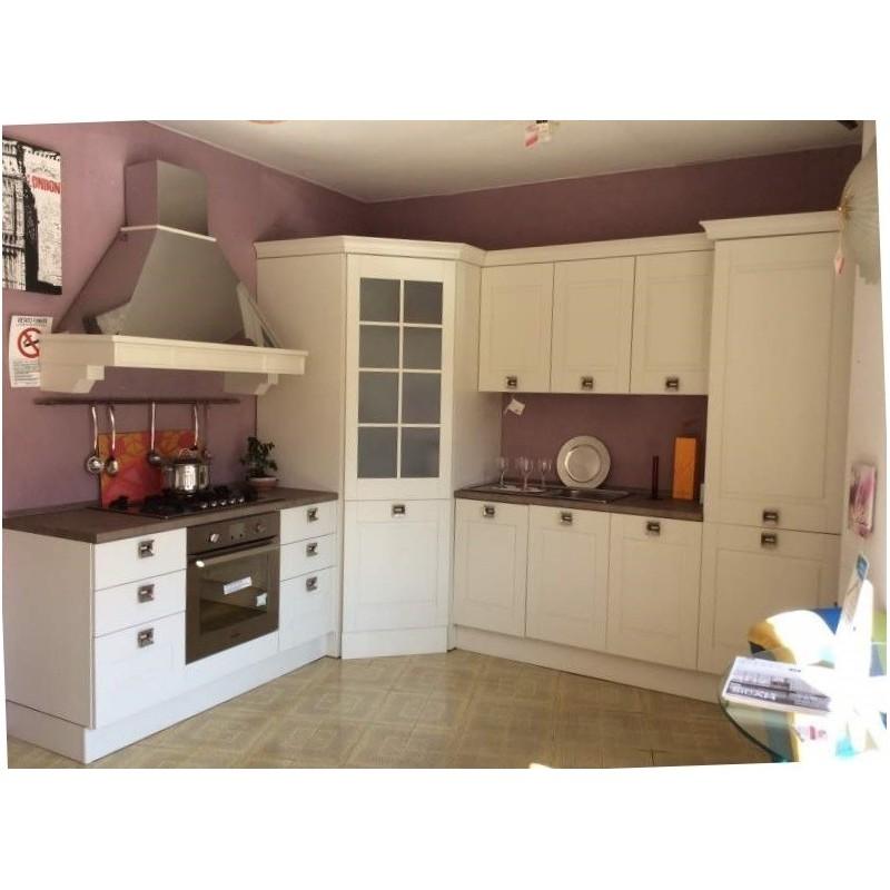 cucina con cabina angolo