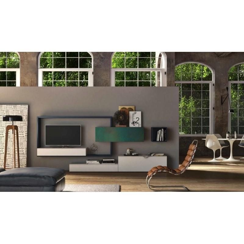 parete soggiorno porta tv art. 3001
