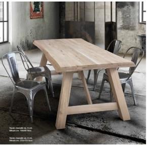 Tavolo in legno massello art. 8167