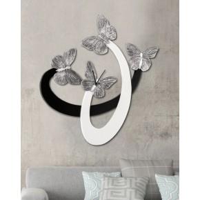 Farfalle argentate