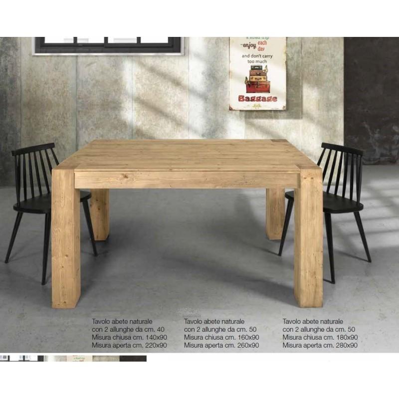 Tavolo in rovere art. 85456