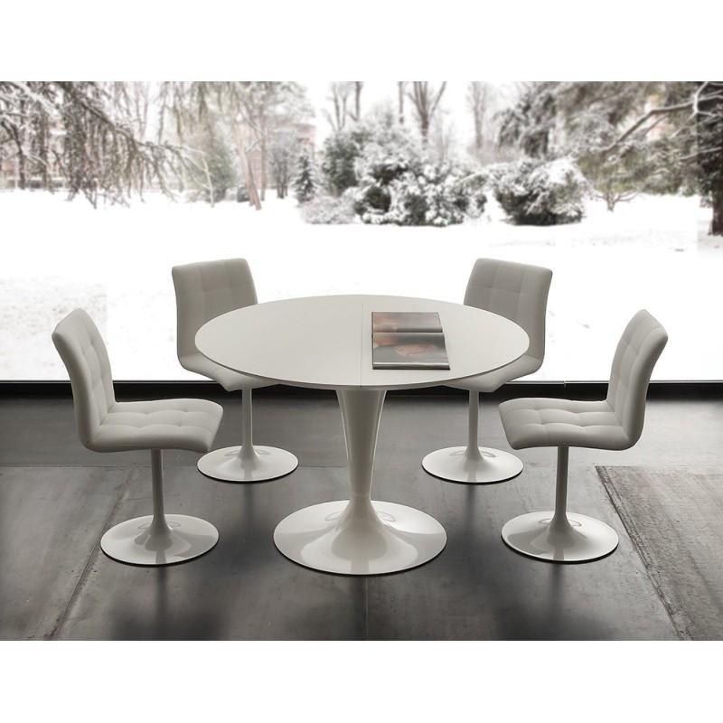 tavolo tondo allungabile mod. island