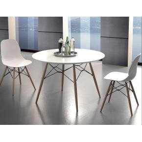 Tavolo tondo mod. Shell table