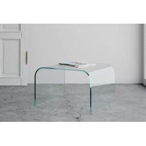 Tavolino Arecibo in vetro