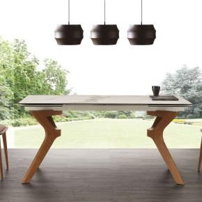 Tavolo allungabile art. palladio ceramico