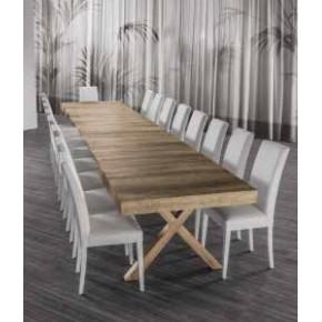 Tavolo copernico allungabile a 500 cm