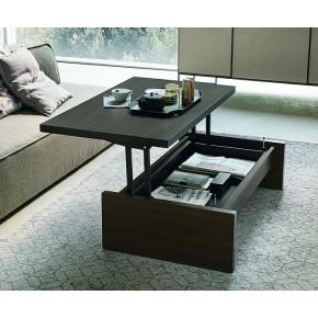 Tavolino trasformabile in tavolo o scrivania art. single
