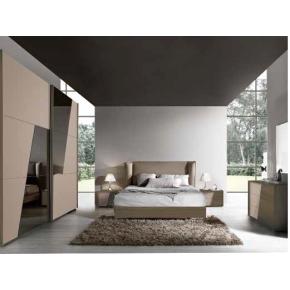 Camera da letto art. vct022 noce/visone