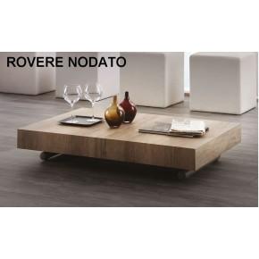 Tavolino trasformabile regolabile in altezza e lunghezza