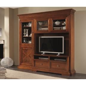 parete soggiorno porta tv in legno art. im861