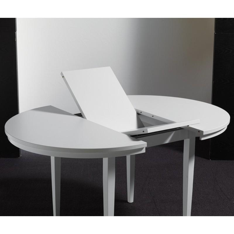tavolo tondo allungabile art eko