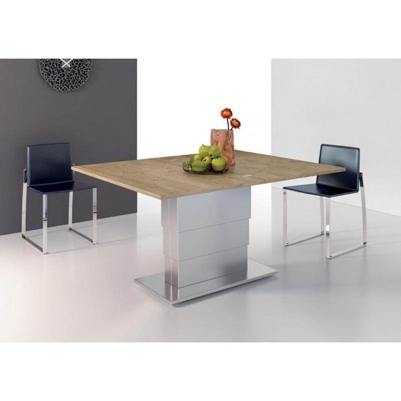 Tavolini Da Salotto Trasformabili In Tavolo.Tavolino Da Salotto Trasformabile In Tavolo Art At001 Rovere