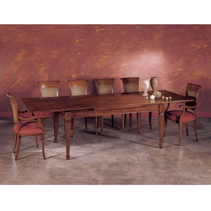tavolo rettangolare allungabile art. im911