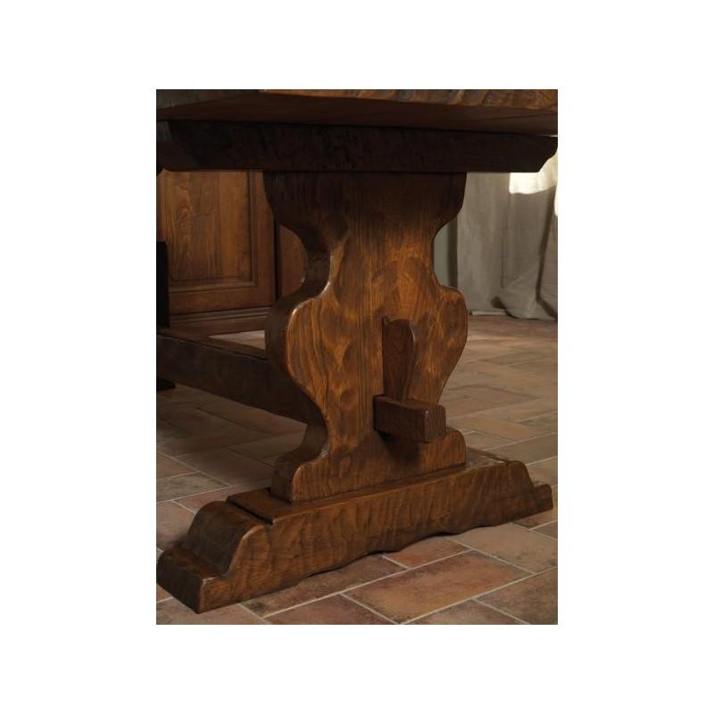 tavolo in castagno massello art. 100 A