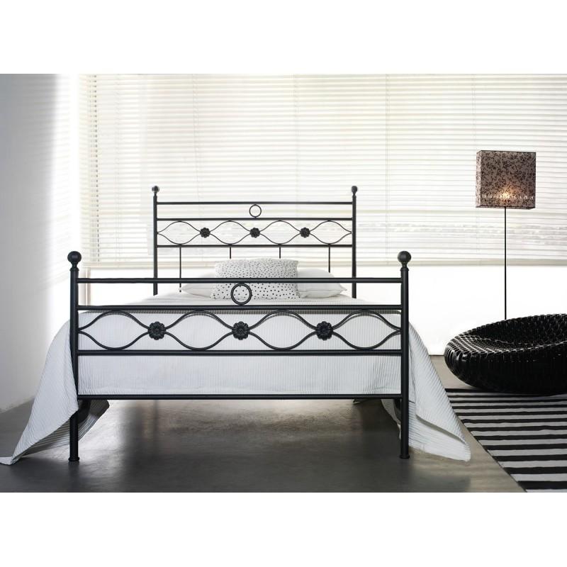 letto in ferro da 120 cm incanto
